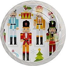 Lade Handgrepen Kabinet Knoppen Rond Een Pack van 4 Lade Knoppen, Kerst moer Crackers