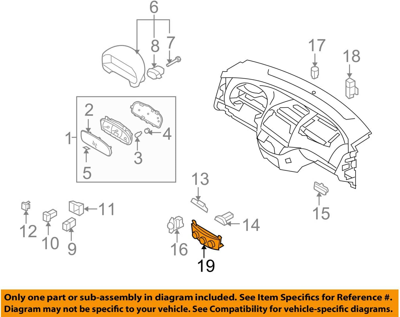 Genuine Hyundai 97250-2H011-9K Assembly service Control 2021 spring and summer new Heater