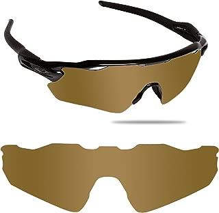 Fiskr Anti-saltwater Polarized Replacement Lenses for Oakley Radar EV Path Sunglasses