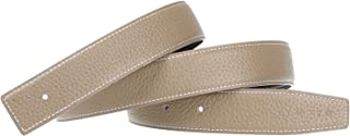 Replacement Belt Reversible Replacement Strap Genuine Leather 1 1/4inch Wide - for Hermes