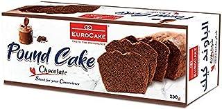 Eurocake Sliced Pound Cake Chocolate, 230 gm