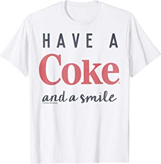 Coke And A Smile Graphic T-Shirt