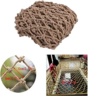 Children Fall Protection Safety Net Child Protection Net Staircase Balcony Anti-fall Net Hemp Rope Net Safety Net Decoration Net Restaurant Bar Ceiling Net Climbing Net Rope Hanging Clothes Net