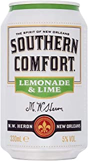 Southern Comfort Lemonade and Lime Premix Cocktail Can 330ml