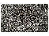 Gorilla Grip Soft and Absorbent Indoor Chenille Doormat, 30x20, Traps...