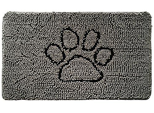 Gorilla Grip Original Indoor Durable Chenille Doormat, 30x20, Absorbent Machine Wash Inside Mats,...