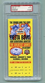 2009 Fiesta Bowl Full Ticket Texas Longhorns v Ohio State Buckeyes Highest PSA