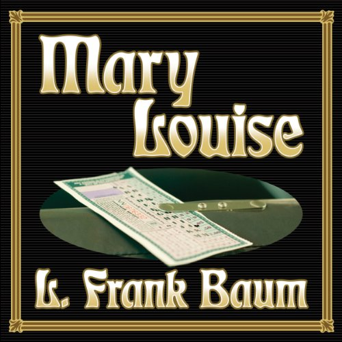 Mary Louise audiobook cover art