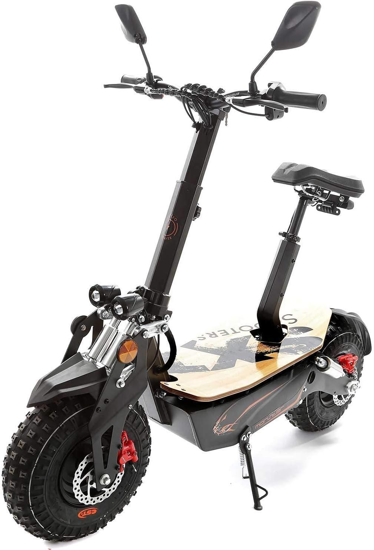 Sxt Bicicleta Eléctrica Monster Offroadscooter con XXL Presión Scooter Acumulador de Plomo