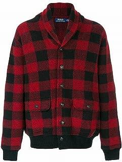 Ralph Lauren Mens Iconic Plaid Cardigan Sweater
