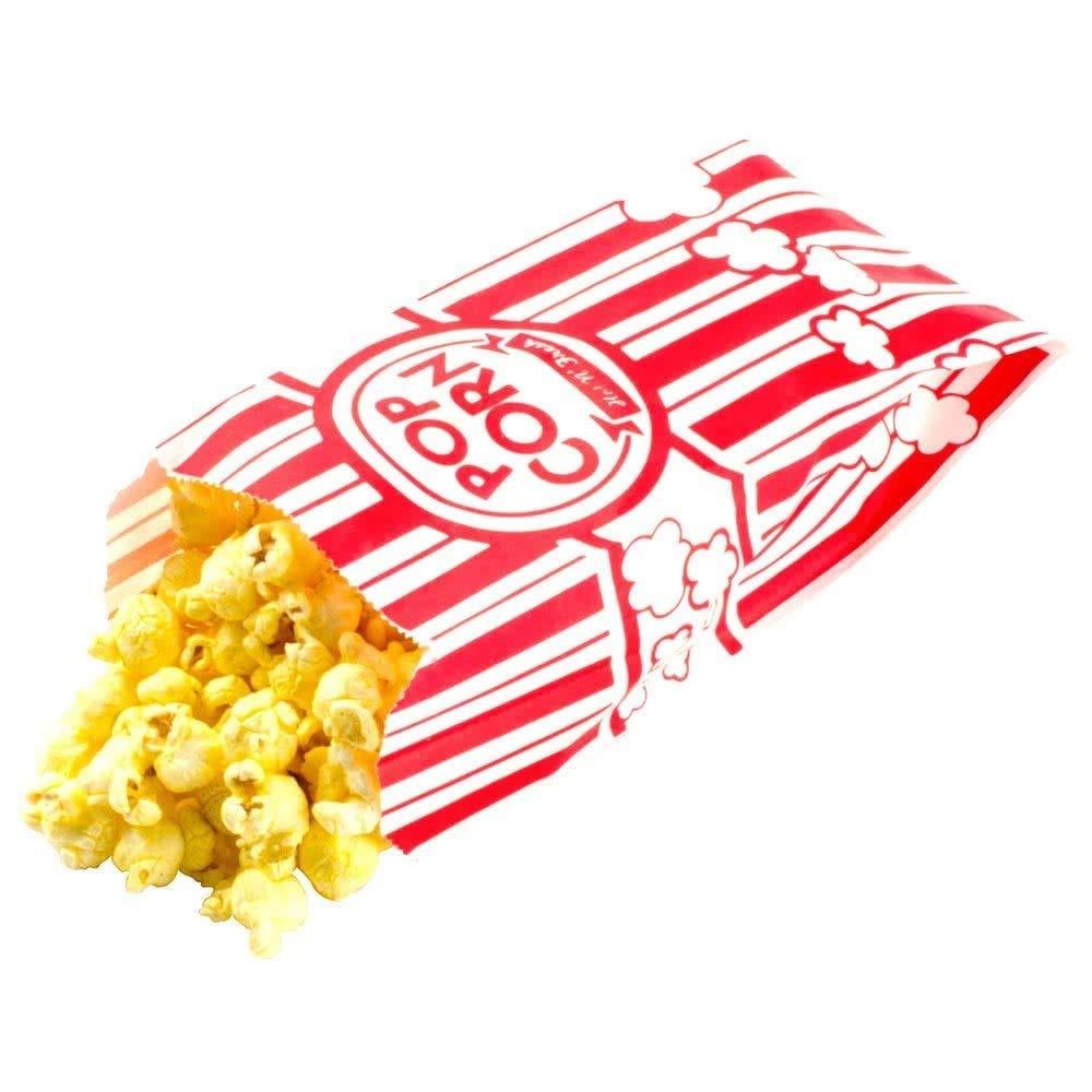 15. Carnival King Paper Popcorn Bags