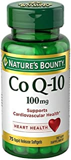 Nature's Bounty Co Q-10 100 mg Softgels 75 ea (Pack of 2)