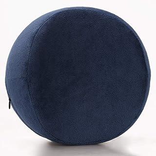 YYBF Memoria algodón Clip Pierna Almohada Multifuncional de la Pierna Lento Rebote Hermosa Almohada de la Pierna 26 * 20 * 15cm Redondo Tibetano