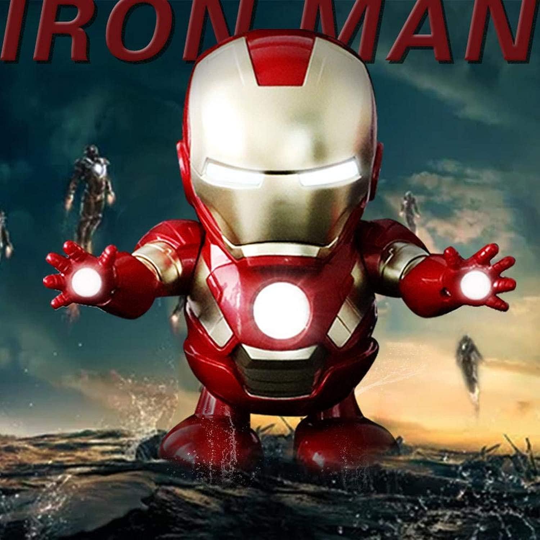 Avengers Iron uomo azione cifra Btuttierà Il Giocattolo Elettrico American Captain Robot Adatto A Bambini Ragazzi E Ragazze -10  12  19 Cm A