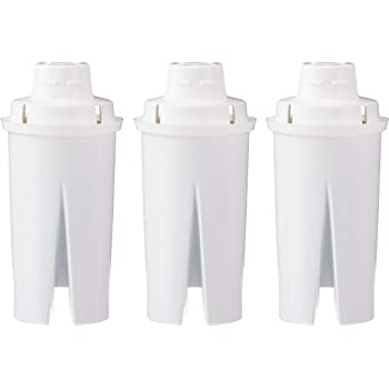 AmazonBasics Replacement Water Filters for Water Pitchers - 3-Pack