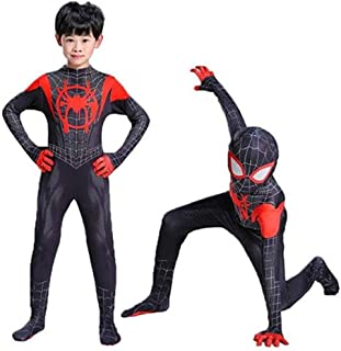 Lycra Spandex Halloween New into The Spider Verse Miles Morales Cosplay Costumes Adult/Kids