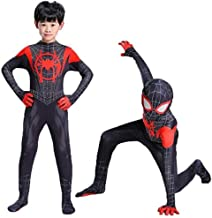 Wandado Lycra Spandex Halloween New into The Spider Verse Miles Morales Cosplay Costumes Adult/Kids
