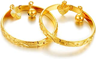 Best baby boy bangle gold Reviews