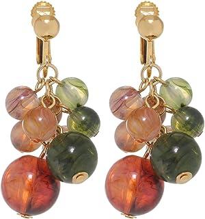 GrandUAE Women's Alloy Earring - Grapes, Multi Color