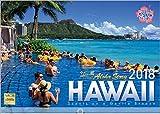 ハワイ 2018年 カレンダー 壁掛け D-3
