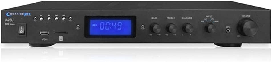Technical Pro Open Box IA25U Integrated Amplifier w/ USB & SD Card Inputs