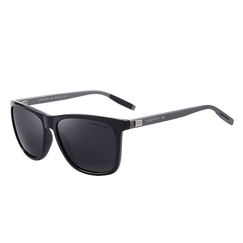 a67634c27a MERRY S Unisex Polarized Aluminum Sunglasses Vintage Sun Glasses For Men Women  S8286