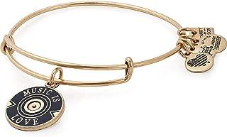 Women's Charity by Design, Music is Love Bangle Bracelet, Rafaelian Gold