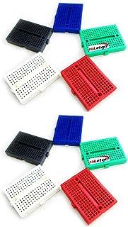 HiLetgo 10個セット Arduino用170タイポイント SY-170 ミニブレッドボード カラフルブレッドボード [並行輸入品]