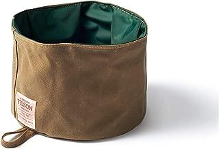 Filson Tin Cloth Dog Bowl