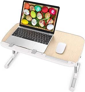 TaoTronics Mesa Ordenador Portátil, Mesa para Cama o Sofa,