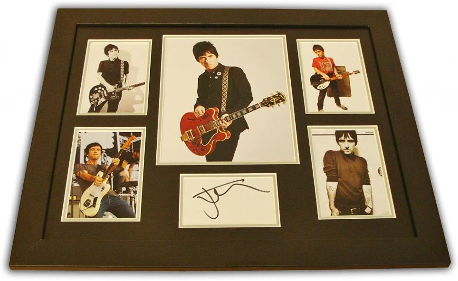 Up North Memorabilia Johnny Marr Signed Photo Large Framed The Smiths Music Autograph Display + COA
