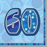 Unique Party 28463 - Blu Brillante 60° Compleanno...
