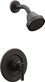 Moen T2902EPBL Gibson Posi-Temp Pressure Balancing Eco-Performance Modern Shower Only Trim, Valve Required, Matte Black