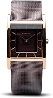 BERING Time 10426-265-S Womens Classic Collection Watch with Mesh Band and Scratch Resistant Sapphire Crystal. Designed in Denmark