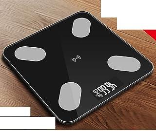 Báscula de baño digital Hogar Escala electrónica, luz de carga de energía, de alta precisión, pequeño error, de respuesta rápida, conveniente for la medición de grasa corporal báscula peso corporal
