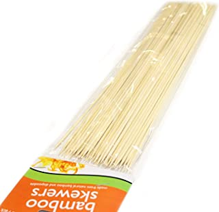 Pack of 120 Extra Long Disposable Bamboo Skewers
