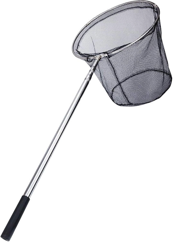 Fishing Fish net Fishing Gear Stainless Steel dip net Telescopic Rod Collapsible deep Fishing net Copy Head net