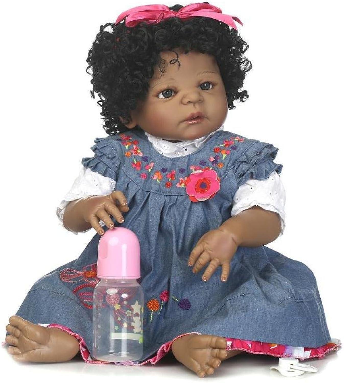 QXMEI 56cm Silikon Reborn Baby Doll Realistisch 22  Neugeborenes Baby Puppen Baby Spielzeug Silikonpuppen
