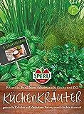 84855 Sperli Premium Küchenkräuter Set | 5 Kräuter | Saatscheiben | Kräuter Samen Set |...