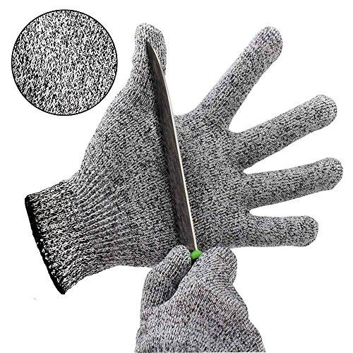 Snijbestendige handschoenen kinderen keuken hoge prestaties snijbescherming handschoenen licht 5 handbescherming niveau voedselveilig snijbestendige handschoenen