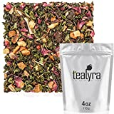 Tealyra - Berry Rose Slenderize - Pu Erh 5 Year Aged with Green Oolong - Loose Leaf Tea Blend - Diet...