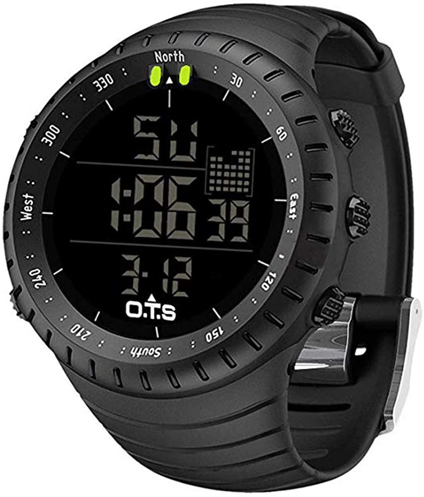 PALADA Men's Digital Sports Watch Waterproof Tactical Watch with LED Backlight Watch...
