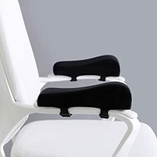 EcoLifeDay Chair Ergonomic armrest Cushions Elbow Pillow Pressure Relief Office Chair Gaming Chair armrest with Memory Foa...