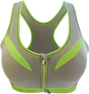 Yayu Women Wirefree Yoga Seamless Padded Sports Removable Bra 1 46A