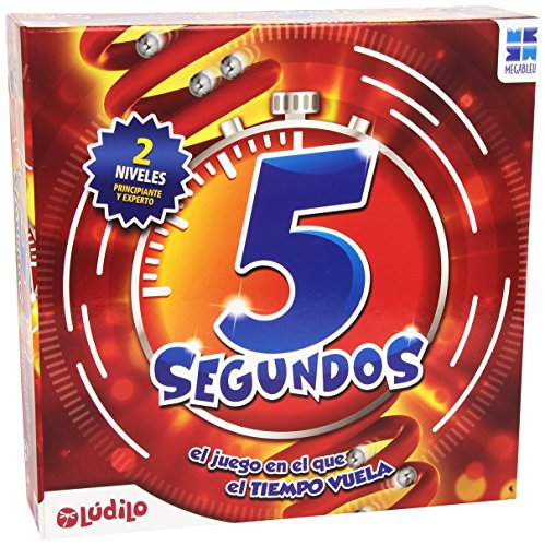Megableu - 5 Segundos, Gioco da Tavolo [Lingua Spagnola]