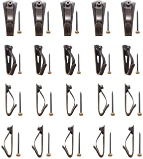 ADDEN Piece 20 Heavy Duty Picture Hanging Hooks Picture Photo Frame Earthquake Hangers