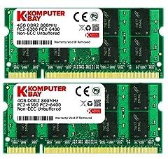 Komputerbay 8GB  2x 4GB  PC2-6400