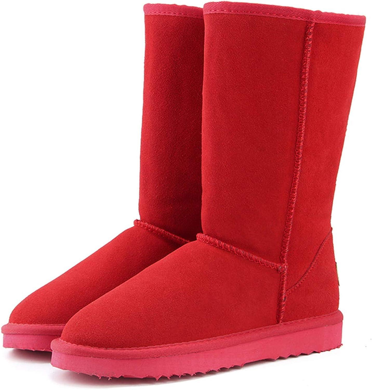 Coac3 Genuine Leather Fur Snow Boots Women Top Australia Boots Winter Boots for Women Warm Botas