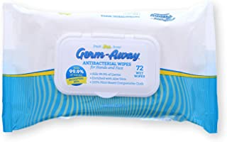 Germ-Away Fresh Scent Antibacterial Hand Wipes Soft Pack 72ct, 1pk