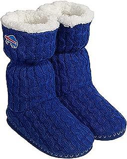 NFL Forever Collectibles Women's Slipper Boots/Booties - Buffalo Bills - Blue